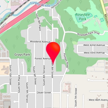 Map for At&T Wireless in Mint Hill Commons
