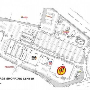 Plan of mall 140 Village Shopping Center