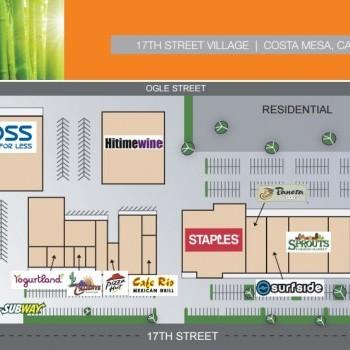 Plan of mall 17th Street Village