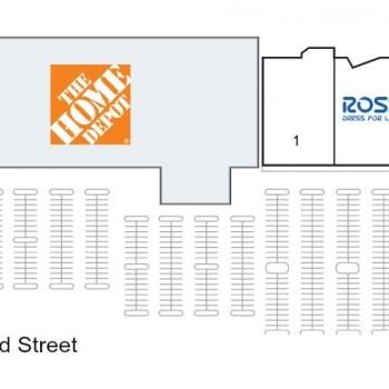 Plan of mall 23rd Street Plaza