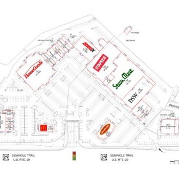 Plan of mall 29th Place