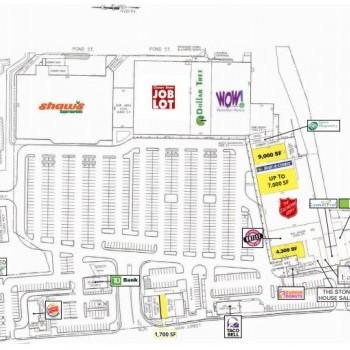 Plan of mall 300 Main Street Marketplace