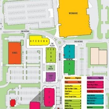 Plan of mall 3rd Ave Burlington