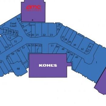 Plan of mall Aberdeen Mall