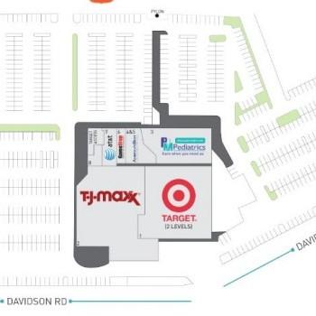 Plan of mall Abington Towne Center