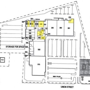 Plan of mall Airport Mall