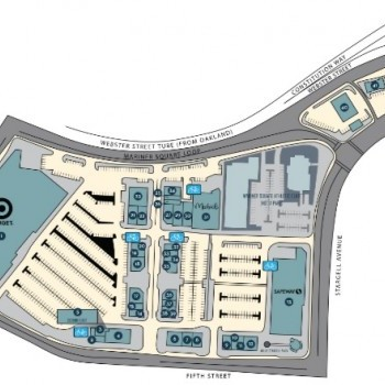 Plan of mall Alameda Landing