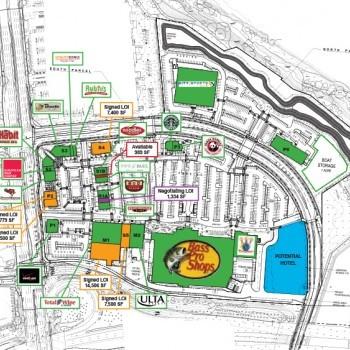 Plan of mall Almaden Ranch
