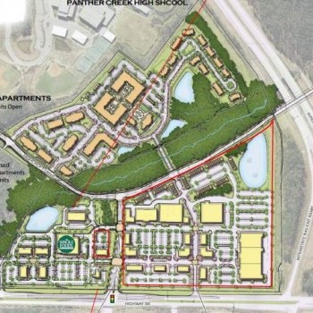 Plan of mall Alston Town Center