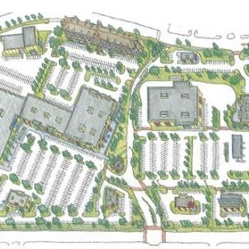 Plan of mall Antioch Crossing