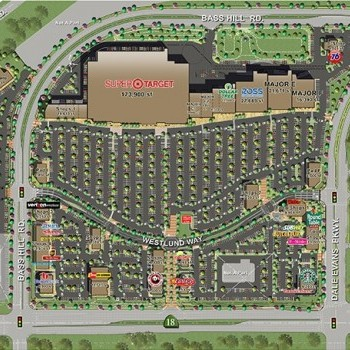 Plan of mall Apple Valley Commons