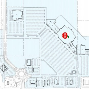 Plan of mall Applewood Centre