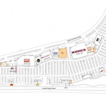 Plan of mall Arapahoe Crossings