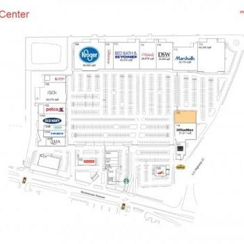 Plan of mall Arborland Center