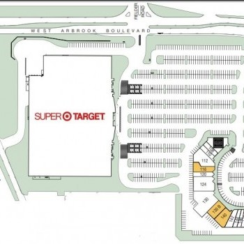 Plan of mall Arbrook Oaks