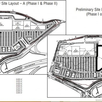 Plan of mall Arecibo Towne Center