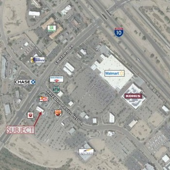 Plan of mall Arizona Pavilions Shopping Center