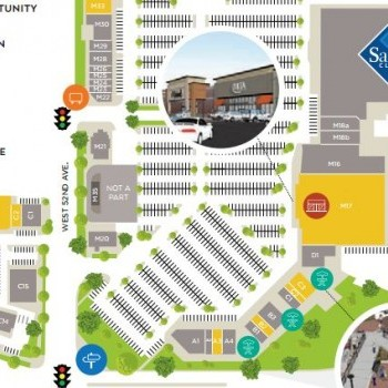 Plan of mall Arvada Connection & Marketplace