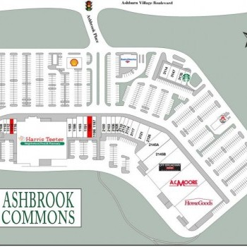 Plan of mall Ashbrook Commons