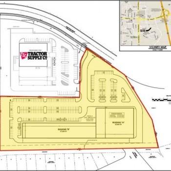 Plan of mall Ashland Square II