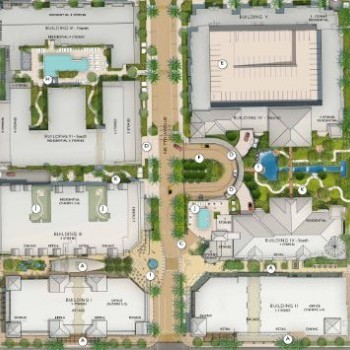 Plan of mall Atlantic Crossing