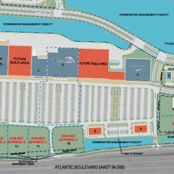 Plan of mall Atlantic North