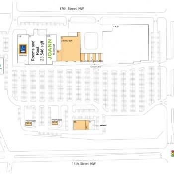 Plan of mall Austin Town Center