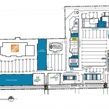 Plan of mall AustinTown Plaza