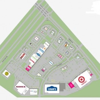 Plan of mall Bandera Pointe