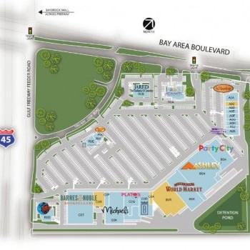 Plan of mall Baybrook Gateway