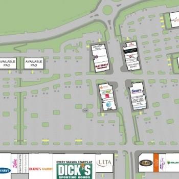 Plan of mall Beaver Creek Crossings