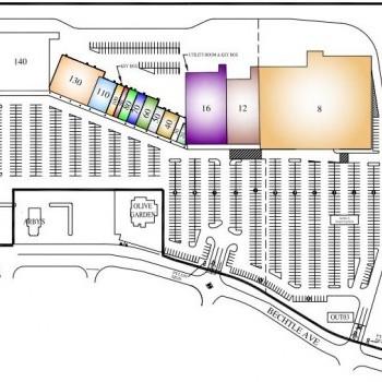 Plan of mall Bechtle Crossing