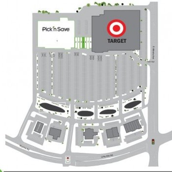 Plan of mall Bellevue Town Center