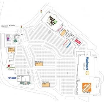 Plan of mall Berkshire Crossing
