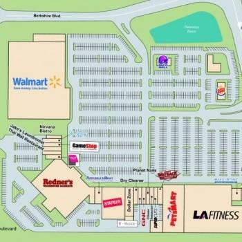 Plan of mall Berkshire Square