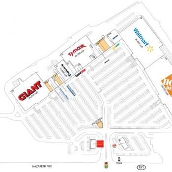 Plan of mall Bethlehem Square
