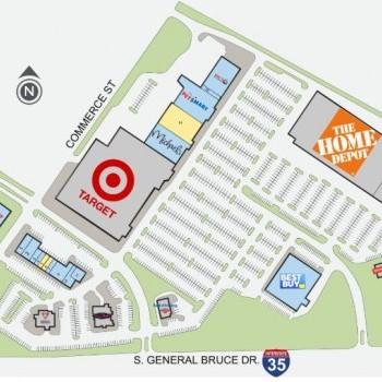 Plan of mall Bird Creek Crossing
