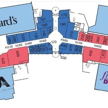 Plan of mall Bonita Lakes Crossing