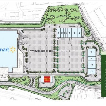 Plan of mall Boonton Plaza