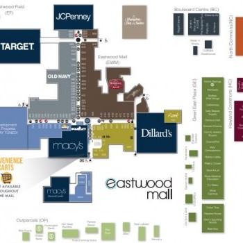 Plan of mall Boulevard Centre