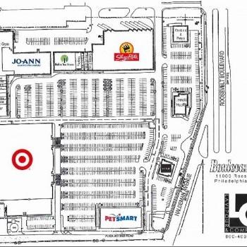 Plan of mall Boulevard Plaza