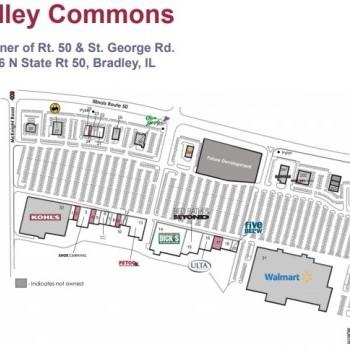 Plan of mall Bradley Commons