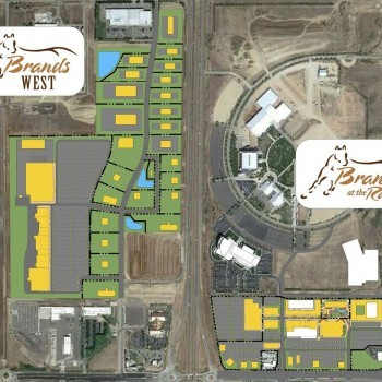 Plan of mall Brands at the Ranch