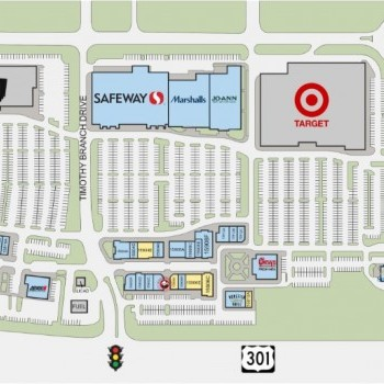 Plan of mall Brandywine Crossing