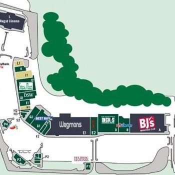 Plan of mall Brandywine Square