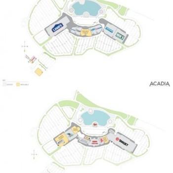 Plan of mall Brandywine Town Center