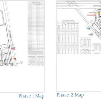 Plan of mall Brazos Town Center