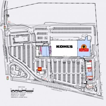 Plan of mall Briarcliff Commons