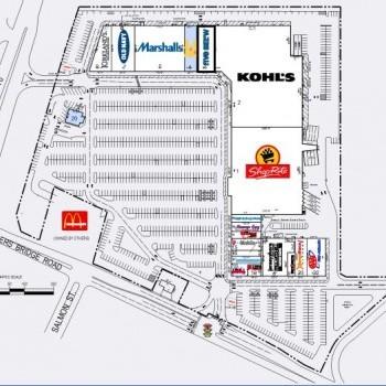 Plan of mall Brick Commons