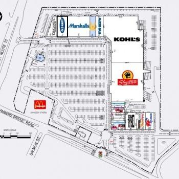 Plan of mall Bricktown Commons